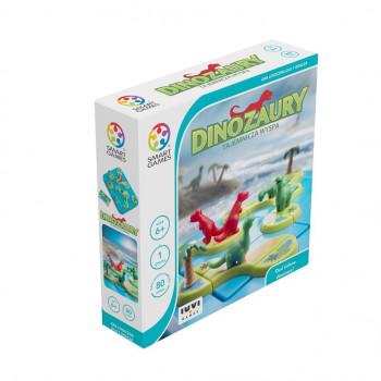 Smart Games Dinozaury Tajemnicza Wyspa (PL) IUVI