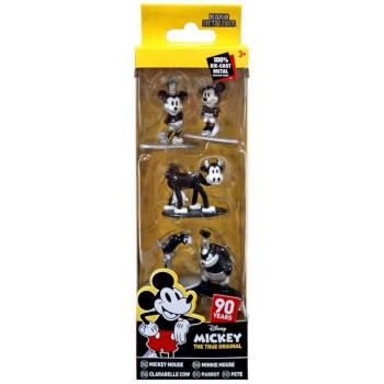 Figurki metalowe Mickey 5-pack