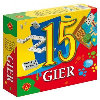 15 gier ALEX