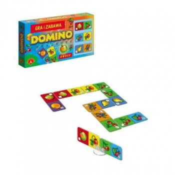 Obrazkowe Domino Owoce...