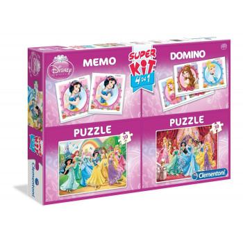 Puzzle Domino Memory 4w1...