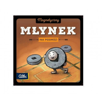 Młynek - gra magnetyczna ALBI