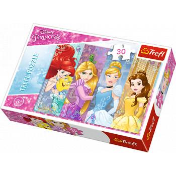 Bajkowe Księżniczki Puzzle...