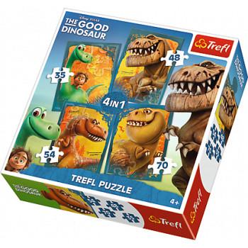 Dobry Dinozaur Puzzle...