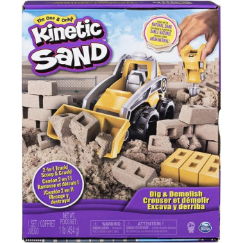 Kinetic Sand Kop i burz 454g