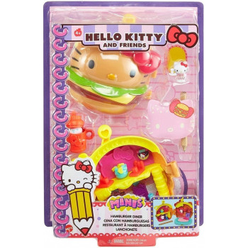Hello Kitty Miniprzygoda Hamburger zestaw GVB28
