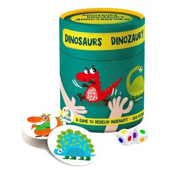 Gra na spostrzegawczość - Dinozaury