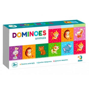 Domino Zwierzęta 29 elementów