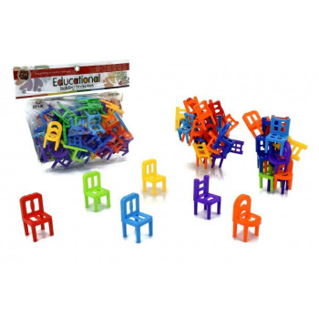 Układanie krzesełek