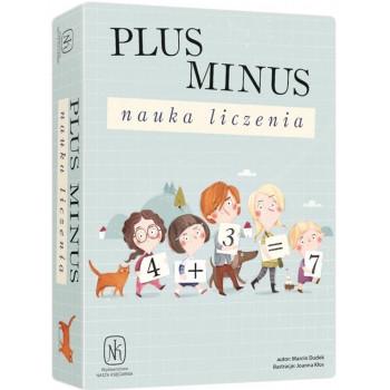 Gra - Plus minus. Nauka liczenia