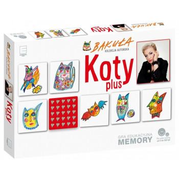Gra edu. memory - Koty plus Hanna Bakuła