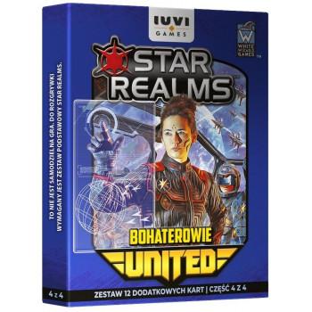 Star Realms: United Bohaterowie IUVI Games  - Dodatek