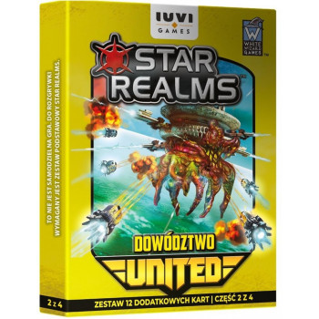 Star Realms: United Dowództwo IUVI Games  - Dodatek