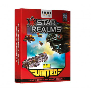 Star Realms: United Atak IUVI Games  - Dodatek