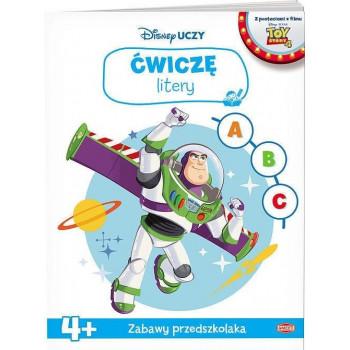 Disney uczy. Toy Story. Ćwiczę litery