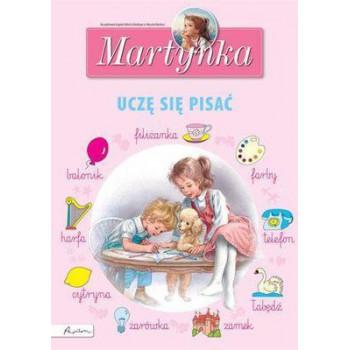 Martynka uczę się pisać