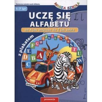 Uczę się alfabetu + plakat SIEDMIORÓG