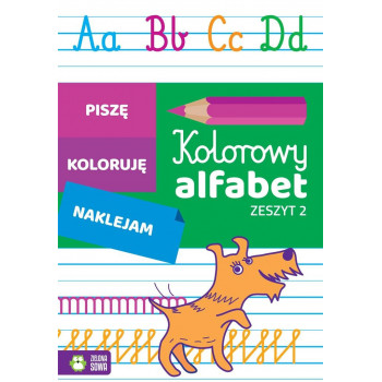 Kolorowy alfabet. Zeszyt 2