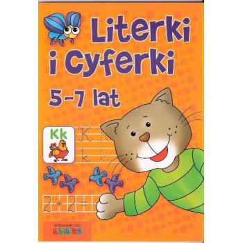 Literki i cyferki 5-7 lat LITERKA
