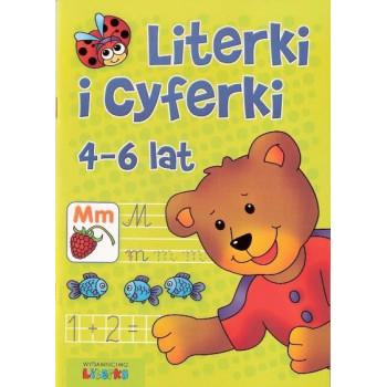 Literki i cyferki 4-6 lat LITERKA