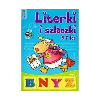 Literki i szlaczki 6-7 lat LITERKA