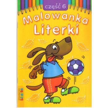 Malowanka - Literki cz. 6  LITERKA