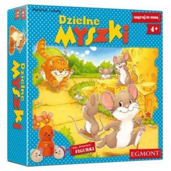 Gra - Zagraj ze mną. Dzielne myszki