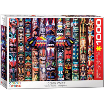Puzzle 1000 Totemy