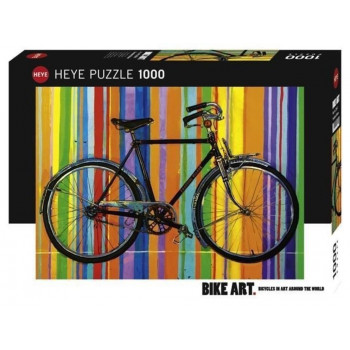 Puzzle 1000 Bike art, Freedom de lux