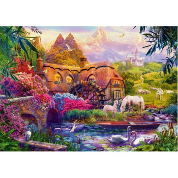 Puzzle 1000 Stary młyn