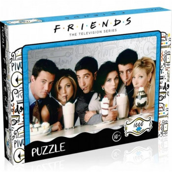 Puzzle 1000 Friends Milkshake