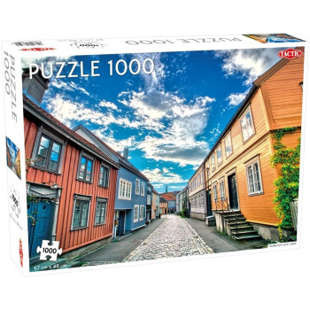 Puzzle 1000 Trondheim Old Town