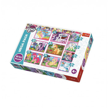 Puzzle 10w1 My Little Pony TREFL