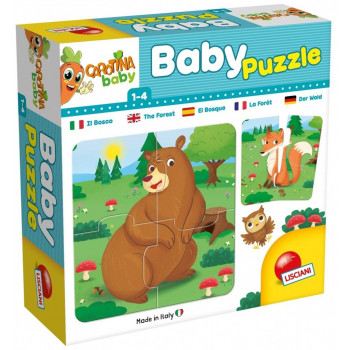 Carotina Baby - Puzzle The forest