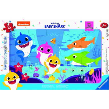 Puzzle 15 Baby Shark