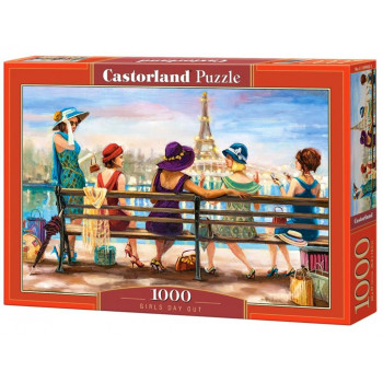 Puzzle 1000 Girls Day Out CASTOR