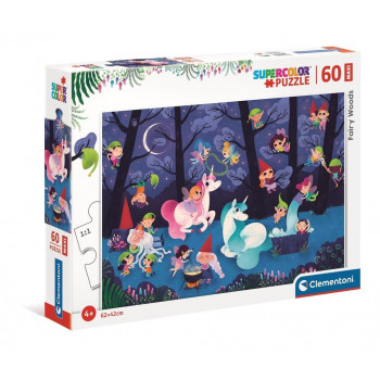 Puzzle 60 Maxi Super Kolor Fairy Woods
