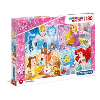 Puzzle 180 Super kolor Princess