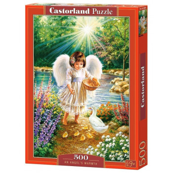 Puzzle 500 An Angel's Warmth CASTOR