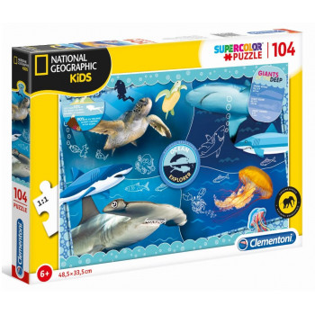 Puzzle 104 National Geo Kids Ocean Explorer