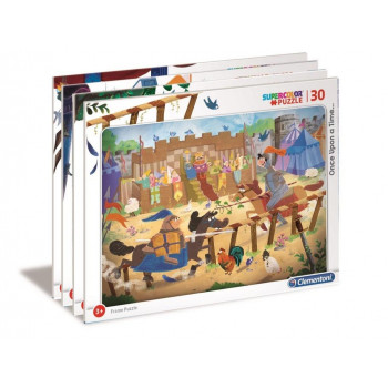 Puzzle ramkowe 30 Super Kolor Unce Upon a Time