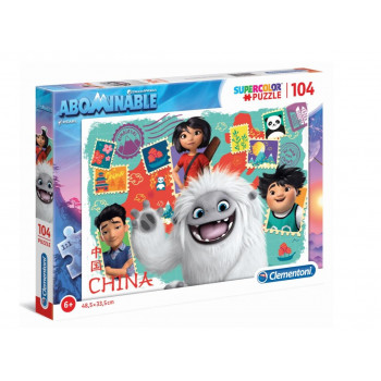 Puzzle 104 Super kolor Abominable