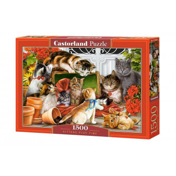 Puzzle 1500 Kittens play time CASTOR
