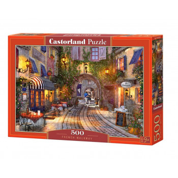 Puzzle 500 French Walkway CASTOR