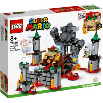 Lego SUPER MARIO 71369 Walka w zamku Bowsera