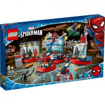 Lego SUPER HEROES Atak na kryjówkę Spider-Mana