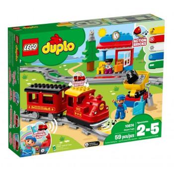 Lego DUPLO 10874 Pociąg parowy