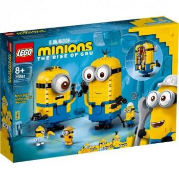 Lego MINIONS 75551 Minionki z klocków i gniazdo