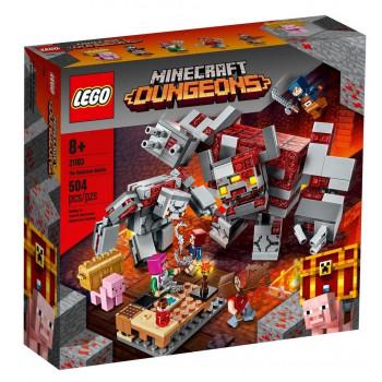 Lego MINECRAFT 21163 Bitwa o czerwony kamień