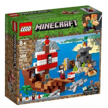 Lego MINECRAFT Przygoda na statku pirackim